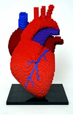 heart 50 Incredible Examples of Lego Creations and Artwork