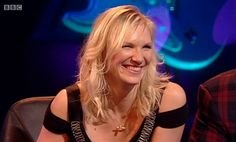 Jo Whiley wearing the Alex Monroe Bumblebee necklace on Never Mind the Buzzcocks. Bumble Bee Necklace, Alex Monroe, Sienna Miller, Love Affair, Emma Watson, Indie, British, Jewellery, Female