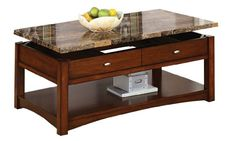 Special Offers - Acme 80020 Jas Faux Marble Lift Top Coffee Table Cherry Finish - In stock & Free Shipping. You can save more money! Check It (March 28 2016 at 05:17PM) >> http://sofaarmchairusa.net/acme-80020-jas-faux-marble-lift-top-coffee-table-cherry-finish/