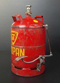 Tritteimer aus alter Gasflasche