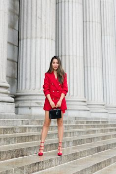6a77f3fafa87 Suit in the Summer, Lady in Red. Red Outfits For WomenSummer Dresses ...