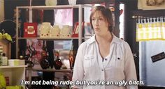 When she was totally honest about what she thought. | 21 Times Miranda Hart Represented Adorably Dorky Women Everywhere