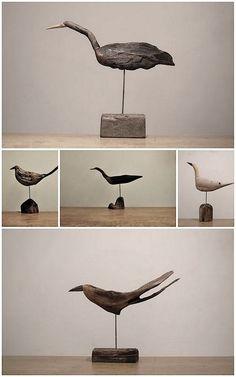 driftwood birds