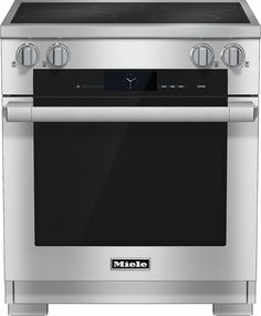 Miele HR1622I 30 Inch Pro-Style Induction Range with 4 Cooking Zones, TwinPower…