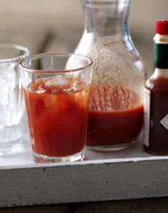 How spicy do you like your Bloody Mary?