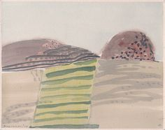 anton hurtado - watercolour - paisaje navarro (2010)