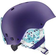 Salomon Kiana Junior Ski Helmet in Purple