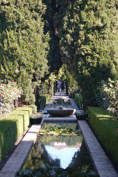 Generalife Gardens. Alhambra. Grenada, Spain. 2007
