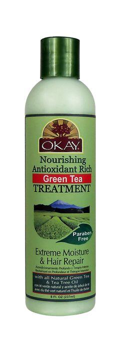 Green Tea Nourishing Antioxidant Rich Treatment 8oz / 237ml - OkayPureNaturals.com