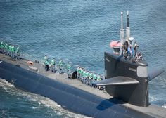 USS Dallas gets underway from Naval Submarine Base New London. | Flickr - Photo Sharing!