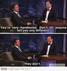 Robert Downey Jr. is awesome. The End.