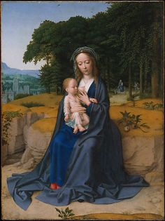The Rest on the Flight into Egypt (ca. 1512–15) | Gerard David (Netherlandish, Oudewater ca. 1455–1523 Bruges)