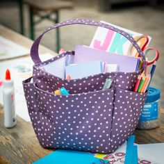Store arts and crafts in the Creative Caddy! https://www.mythirtyone.com/SharonLanders/shop/Catalog/BrowseCatalog