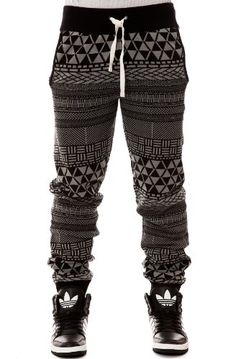 LRG Men's Metrick Jacquard Knit Pants