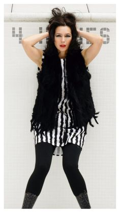 A Fur Vest is a creative accessory to warm up your fall wardrobe.  $350   FREE SHIPPING    www.annekothari.com