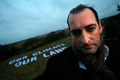 Alastair McGowan: in a genius attempt to stop the construction of a third runway at the Heathrow airport in the UK the TV impressionist  has bought a piece of the Heathrow third runway  with Greenpeace.
