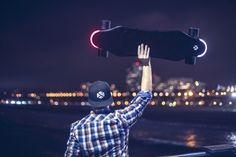 XTND Electric Skateboard tracks your regular routes and offers alternatives that will help you get to your destination faster and in a more comfortable way. Electric Skateboard, How To Become, Projects, Travel, Log Projects, Blue Prints, Viajes, Destinations, Traveling