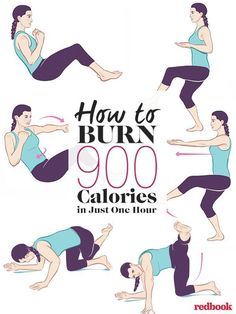 How to Burn 900 Calories in Just One Hour.......Piloxing is an amazing full-body workout, and its also good, dance-y fun, says Kelly Osbourne.