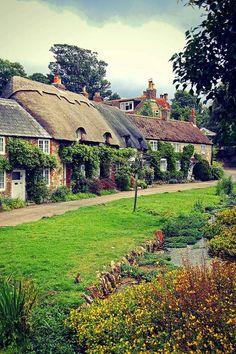 Winkle Street, Calbourne Isle of Wight, UK