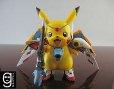 Pikachu Gundam Wing