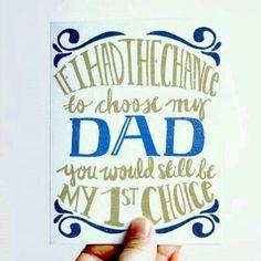 Love u dad