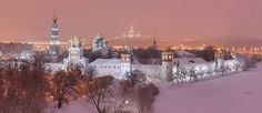 Novodevichy Convent, Moscow - AirPano.com • 360° Aerial Panoramas • 3D Virtual Tours Around the World