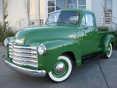 1950 Chevrolet 3100 Pick-up Maintenance of old vehicles: the material for new cogs/casters/gears could be cast polyamide which I (Cast polyamide) can produce