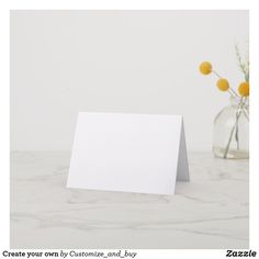 Create your own thank you card
