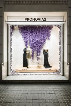 BLOGGED: behind the scenes of our new window displays for the 2017 Preview Collections!