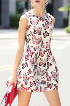 Sleeveless Sequin Tulip Dress