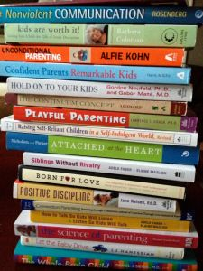 A list of some of the best positive parenting resources (books, blogs, etc) from Parenting From Scratch