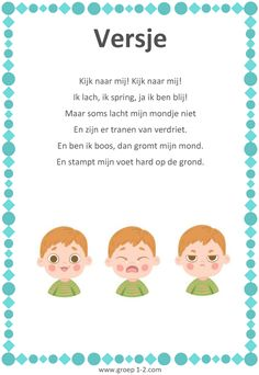 Versje: Thema Het kleurenmonster Toddler Fun, Toddler Crafts, Toddler Activities, Habit 5, Learn Dutch, Programming For Kids, 4 Kids, Coaching, Kindergarten