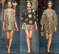 Dolce and Gabbana Summer 2014, Spring Summer, Stylish Girl, Milan Fashion, Girls Out, Dresses With Sleeves, Long Sleeve, Beauty, Style