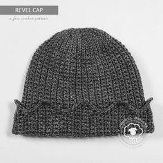 Revel Cap ~ Jughead Hat ~ A Free Crochet Pattern on Noowul