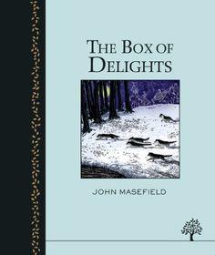 The Box of Delights (Egmont Heritage) by John Masefield http://www.amazon.co.uk/dp/1405264160/ref=cm_sw_r_pi_dp_D7Nzub15G2V8M