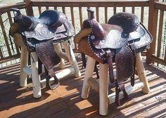 horse saddle barstools - Google Search