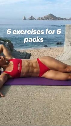 Gym Workout Videos, Abs Workout Routines, Gym Workout For Beginners, Fitness Workout For Women, Workouts, Sixpack Workout, Calisthenics, Barre, Wellness