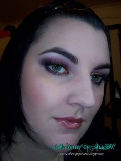 Walk In My Eye Shadow: Makeup Monday – Copper and Purple Smokey Look