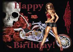 Happy Birthday Biker chick