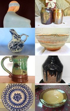 HOME DECOR - Vintage Pottery by Christine Behrens on Etsy--Pinned with TreasuryPin.com