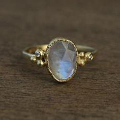 Yasuko Azuma Jewelry — Moonstone Ring