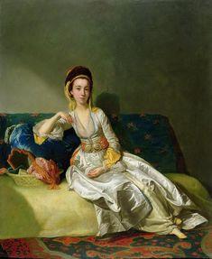 Nancy Parsons in Turkish dress,1771 George Willison