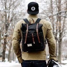 Menswear, backpack