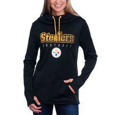 a1eeaf7b2 Pittsburgh Steelers Women s Majestic Speed Fly Fleece Hoodie