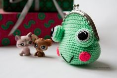 ~ Sweet wallet Frog ~ made by sweetcrochet.nl.