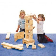 Holzspielzeug - Bausteine Maxi aus Fichte