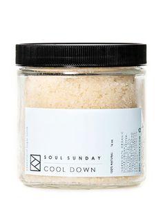 A raw organic sugar and coconut oil combo to make that precious, three-minute mom-shower spa-like. Cool down sugar scrub, $18; Leif.   - Redbook.com
