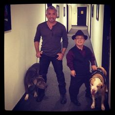 Cesar and Junior with Shorty Rossi. #PackLeader