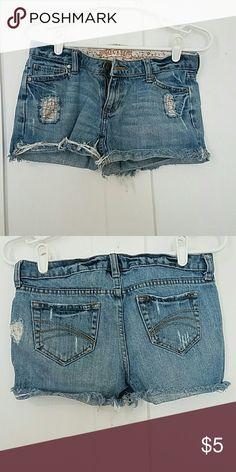 Shorts Decree size 3 shorts light wash Decree Shorts Jean Shorts