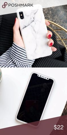 iPhone X White Marble Case Brand new marble case Accessories Phone Cases